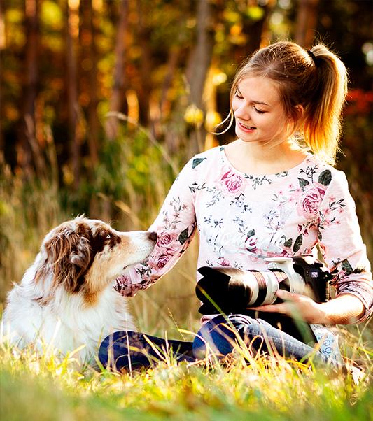 Deine Tierfotografin Judith Lübeß - Coopergrafie ist deine Expertin wenn es um Hundefotos geht
